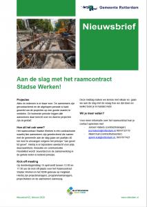 raamcontract Stadse Werken